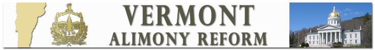 Welcome to Vermont Alimony Reform